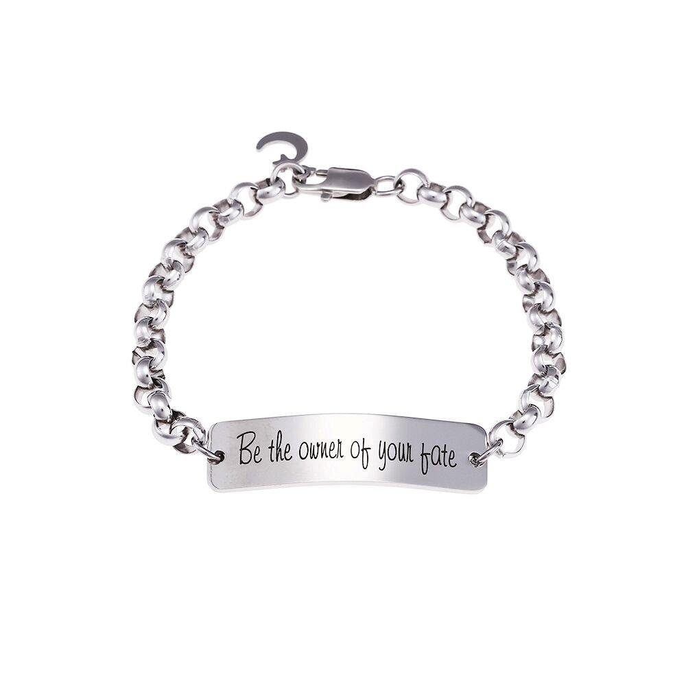 zjfhtd id bar graduation bracelet mom dad friends inspirational