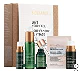 BIOSSANCE Love Your Face: Squalane + Antioxidant Cleansing Oil, Peptide Eye Gel, Phyto-Retinol Serum, Vitamin C Rose Oil, Omega Repair Cream