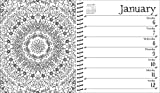 Johanna Basford 2020 Weekly Coloring  Planner
