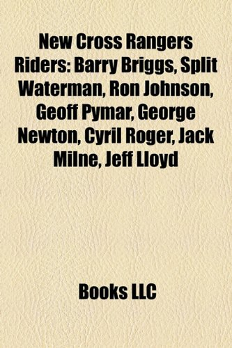 New Cross Rangers Riders: Barry Briggs, Split Waterman, Ron ...
