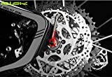 CYCEARTH 40.35g Titanium Bicycle QR Skewer Lever