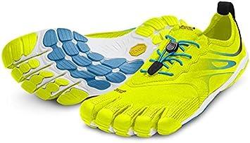 Vibram FiveFingers Bikila EVO M3502 - Zapatillas de dedos para hombre, color amarillo y azul amarillo Talla:41: Amazon.es: Deportes y aire libre