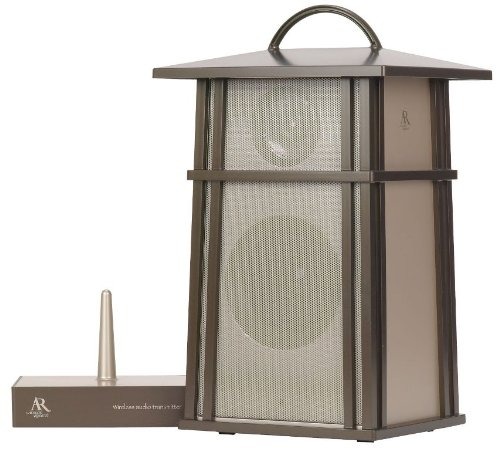 Amazon.com: Acoustic Research Mission Style Wireless Outdoor Speaker  (AW825)   Bronze: Home Audio U0026 Theater