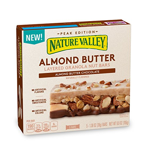 (Nature Valley Almond Butter Layered Granola Nut Bars, 6.9 oz)