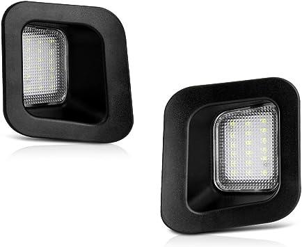 White 18 LED License Plate Light Assy For Dodge RAM 1500 2500 3500 With Resistor