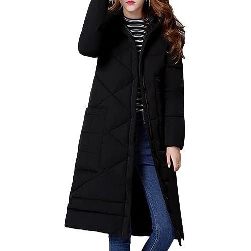 Zhuhaitf comodos abrigos de mujer Fashion Long Down Winter Coats Thickening Comfortable Winter Overk...