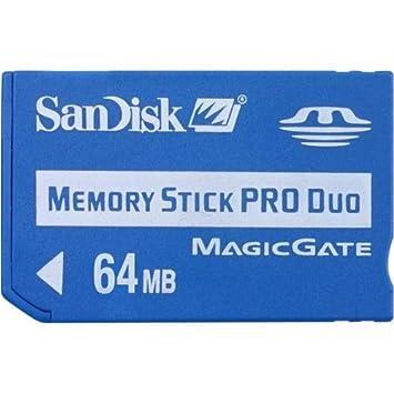 SanDisk 64Mb Memory Stick Pro Duo (SDMSPDS-64-A99): Amazon ...