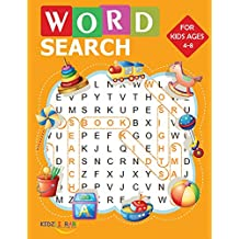 "Word Search for Kids Ages 4-8: 60 Easy Large Print Word Find Puzzles for Kids (8.5""x11"") with Fun Themes!"