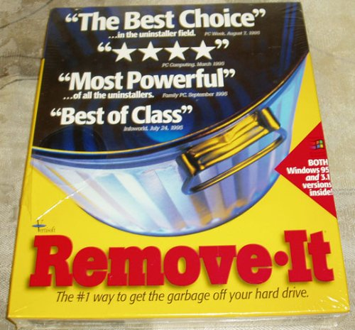 Remove It Unistaller Purge Letfover Programs The #1 Way To Get Garbage Off Your Hard Drive 3.5