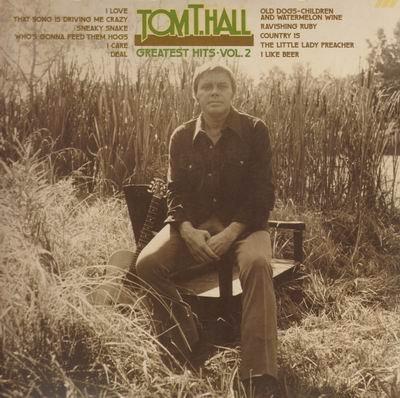 Tom T. Hall: Greatest Hits, Vol. 2 by Mercury