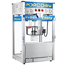 Great Northern Popcorn Pop Heaven Commercial Style Popcorn Popper Machine with 12-Ounce Kettle, Our Biggest Popper