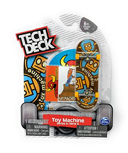 E Series 6 Robot Rare Fingerboard Skateboard Mini Toy Skate Board ()