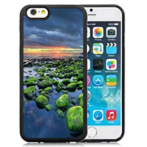 Fashionable and DIY Phone Case Design with Iceland Green Rocks Coast Sunset Samsung Galaxy Note2 N7100/N7102 inch TPU case Wallpaper hjbrhga1544