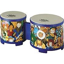 Remo Rhythm Club Bongo Drum - Rhythm Kids, 5