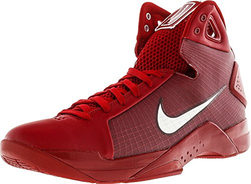 Nike Mens Hyperdunk '08 Basketballschuhe Gym Red / White-Team Rot