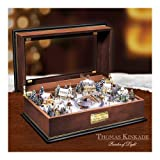 Thomas Kinkade Holiday Lights Masterpiece Music Box