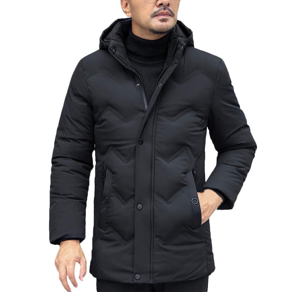 Zulmaliu-men down jacket UNDERWEAR メンズ B07KQ6JW9F ブラック X-Large