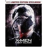 X-Men: First Class Limited Edition Steelbook (Blu Ray + Digital HD)