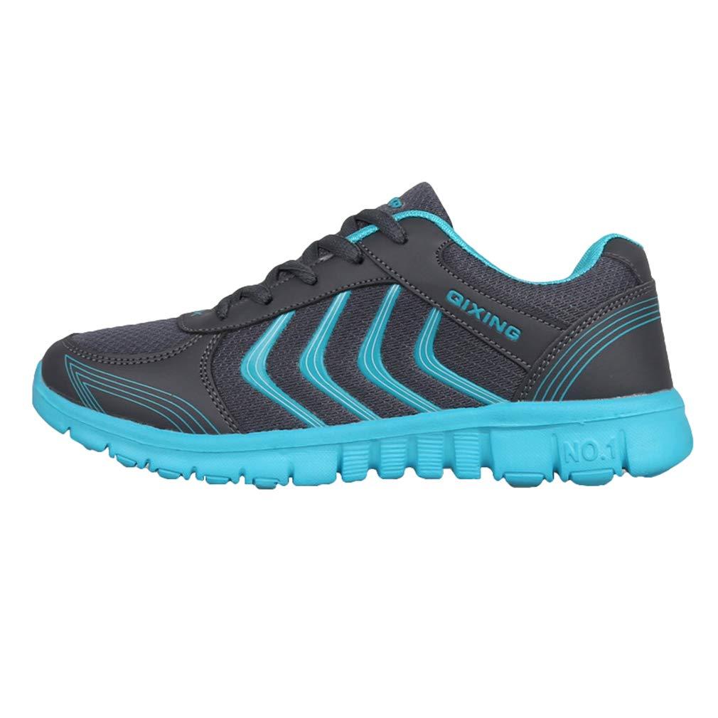 Hombre Mujer Zapatillas de Deportes, Moda Respirable Zapatos Ligero Unisex Casuales Corriendo Trotar Gimnasio Deportes Sneakers Zapatillas
