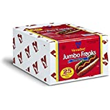 "Vienna® Beef Jumbo Skinless Franks 6"" 5:1 5 lbs. 25 count"