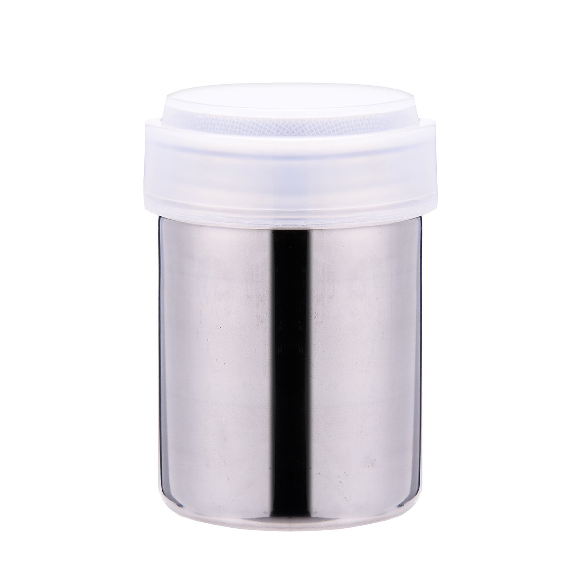 Stainless Steel Powder Shakers Mesh Shaker Powder Cans for Coffee Cocoa Cinnamon Powder 1 Pcs