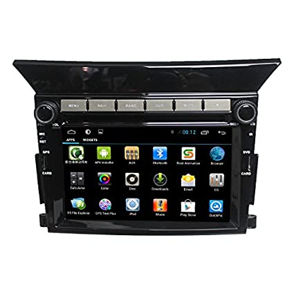 Amazon.com: lsqSTAR Android 4.4 Dual Core Touch Screen Car Stereo Bluetooth Multimedia Player for Honda Pilot with Steering Wheel(Free Map): Car Electronics