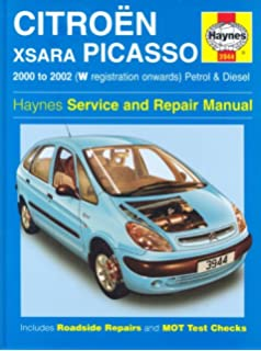 Citroen Xsara Picasso: Petrol and Diesel 2000-2002 (Haynes Service and Repair Manuals