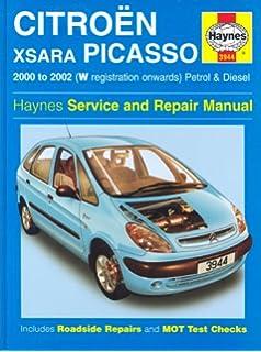 Citroen Xsara Picasso: Petrol and Diesel 2000-2002 (Haynes Service and Repair Manuals