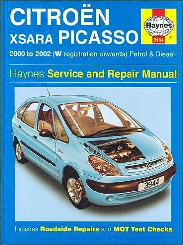 Citroen Xsara Picasso: Petrol and Diesel 2000-2002 Haynes Service and Repair Manuals: Amazon.es: John S. Mead: Libros en idiomas extranjeros