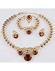 Jewelry Sets Fashion Jewelry Set Gold Plated