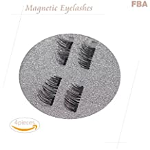 Dual Magnetic Eyelashes [No Glue] Premium Magnet Quality False Eyelashes Set for Natural Look - Best Fake Lashes Extensions One Two Cosmetics 3D Reusable