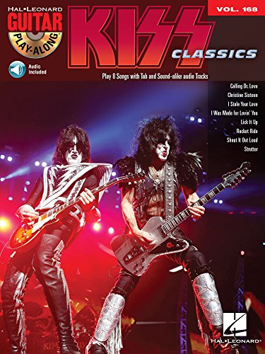 Kiss Songbook: Guitar Play-Along Volume (168 Music Book)