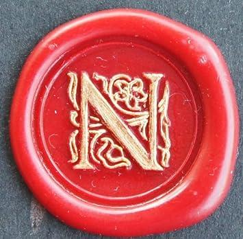 Siegel Stempel Set Sigillum Gravur H 1 Stange Siegelwachs im Geschenkkarton