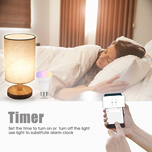 LOHAS-Smart-LED-Bulb-Wi-Fi-Light-Multicolored-LED-Bulbs-LED-Dimmable-60W-Equivalent-Smartphone-Controlled-Daylight-Night-Light-Home-Lighting-Compatible-with-Alexa