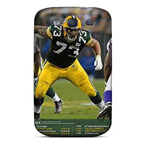 Premium Durable Green Bay Packers Fashion Tpu Galaxy S3 Protective Case Cover