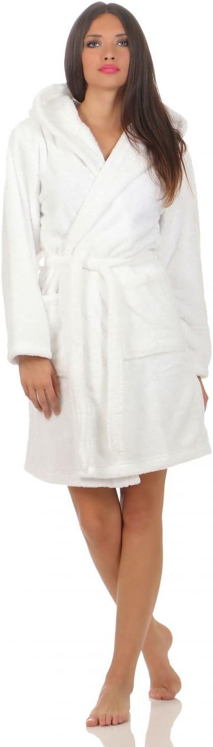 in 6 colori corto Naturawalk xl bianco Accappatoio da donna con cappuccio