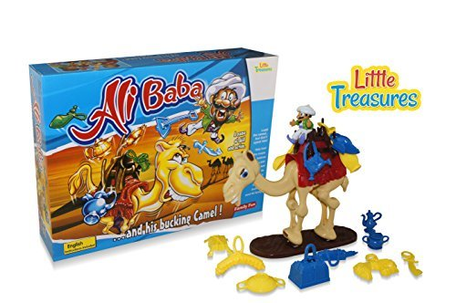 Little Treasures Camel Up Help Eli Baba Load the Camel, Fun Family Educational Game, Great Gift for Boys and Girls by Little Treasures