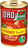 organic tomatoes jar - Oro Di Parma Strained Tomatoes, 14.1 Ounce (Pack of 6)
