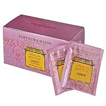Fortnum & Mason lemon tea tea bag 25 pieces Fortnum & Mason Black Tea with Lemon 25 Tea Bags [parallel import goods]