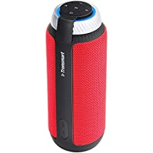 Tronsmart Element T6 25 Watt Bluetooth Speakers, 15 Hours Playtime 360 Degree Surround Sound Portable Wireless Speaker with Deep Bass for Android Samsung Note 8,iPhone 8/8 Plus/X, Pool, Beach-Red
