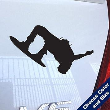 Urbandecal Wakeboard Flip Aufkleber Für Laptop Auto