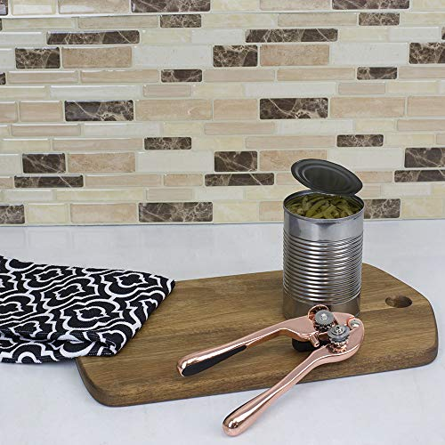 Home Basics Zinc Nova Copper Rose Gold Collection Kitchen Tools and Gadgets (Can Opener) by Home Basics (Image #4)