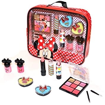 Disney Minnie Mouse Kosmetik Make Up Kinder Schminkset 16 Teilig
