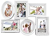 Best MCS Collage Photo Frames - MCS Industries 6 Openings Multi-Shaped Collage Frame, 5 Review