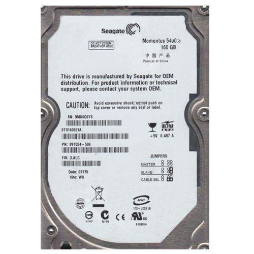 Seagate Momentus 5400.3 160 GB,Internal,5400 RPM,2.5