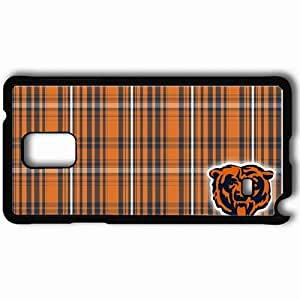 Personalized Samsung Note 4 Cell phone Case/Cover Skin 345 chicago bears Black