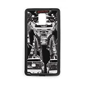 Samsung Galaxy Note 4 Cell Phone Case Black BEWARE ASSIMILATION Kpbxs