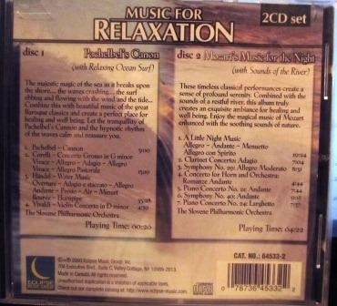 Music for Relaxation: Pachebel's Canon