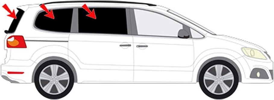 Amazon.es: Auto Visión - Protección Solar Seat Alhambra II 2010 & # x25ba; # 26333 - 5