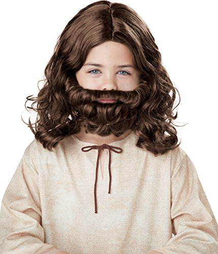 California Costumes Jesus Wig and Beard Child Costume, ACC ()